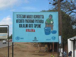 WV1 UNICEF cholera sign 2