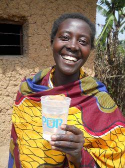 3 billionth Liter  Consumer Claudine Mukargmera 2