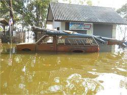 Flooded car 2