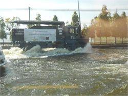 Truck in water 2