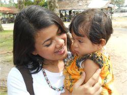 Nirina with Kid 2