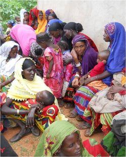Women gathered 1 2
