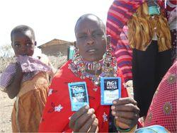 VAC demo 2 Maasai woman P&G and PUR 2