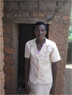 Woman 2 with latrine 2