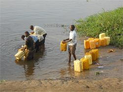 Nile water collecting 2